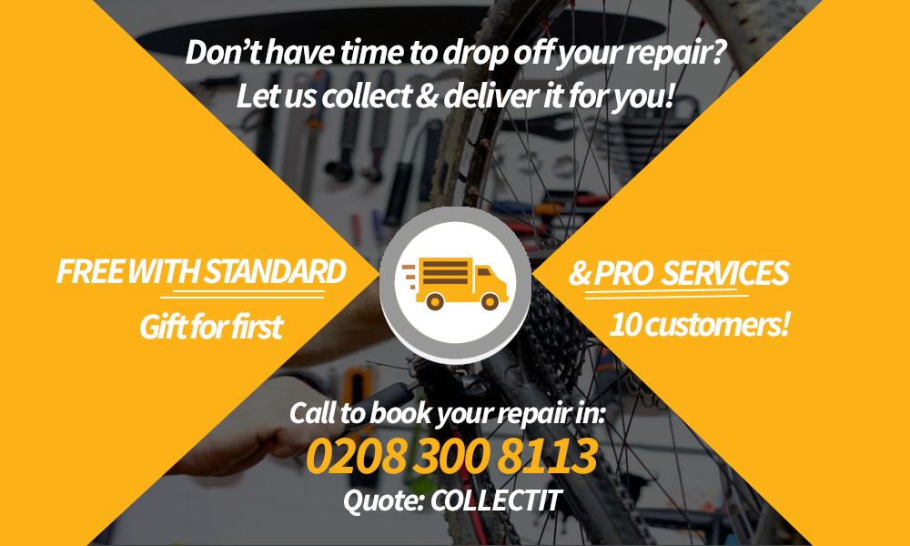 Sidcup Cycle Centre | Free Collection & Delivery on all Standard & Pro Services